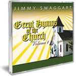 Jimmy Swaggart Music CD Jimmy Swaggart Great Hymns Of The Church Vol 1