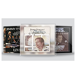 3 JIMMY SWAGGART MUSIC CD'S