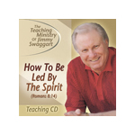 Jimmy Swaggart Preaching CD How To Be Led By The Spirit