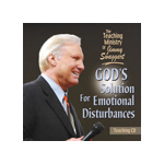 Jimmy Swaggart Preaching Cd God's Solution For Emotional Disturbances