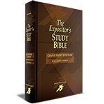 GIANT PRINT, EXPOSITOR'S STUDY BIBLE