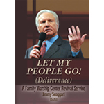 Jimmy Swaggart Preaching DVD Let My People Go