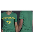 GREEN T-SHIRT W/CROSSFIRE YOUTH MINISTRIES