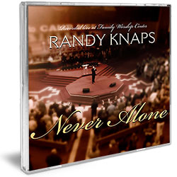 Jimmy Swaggart Ministries Music CD Never Alone - Randy Knaps