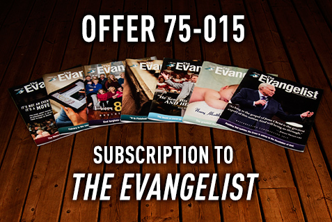 EVANGELIST SUBSCRIPTION